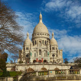 Sacre Coeur Basilica in Paris Stock Image