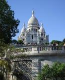 Sacre-Coeur Basilica in Paris. View of the Sacre-Coeur Basilica in Paris, France Stock Image