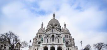 Sacre-Coeur Basilica (Sacré-Cœur), Paris, France. Stock Images