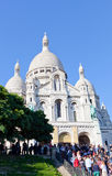 Sacre Coeur Basilica in summer day Royalty Free Stock Image