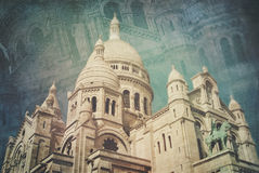 Sacre Coeur Basilica Royalty Free Stock Photography