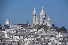 sacre coeur的Basilika 免版税库存照片