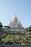 Sacre-coeur Basilika Stockfotografie