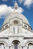 Sacre Coeur Basilika in Paris Stockbilder