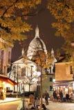 Sacre Coeur Basilique,巴黎,法国 免版税库存照片
