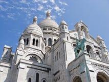 Sacre Coeur basilique. View of Sacre Coeur basilique, paris, france Royalty Free Stock Images