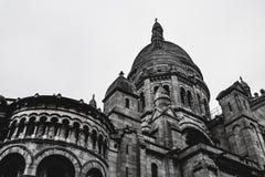 """Sacre Coeur/Basilique av Sacré CÅEN """"ur Paris Frankrike arkivfoto"""