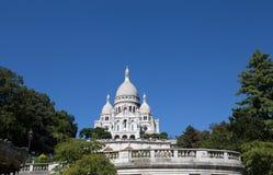 Sacre-Coeur Basilique em Montmartre Paris, França fotografia de stock