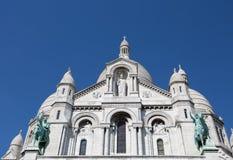 Sacre-Coeur Basilique em Montmartre Paris, França imagem de stock