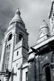 Sacre-Coeur basilique in Paris Stock Photography