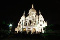 Sacre Coeur Basillica Zdjęcia Royalty Free