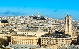 Sacre Coeur - bazylika Święty serce Paryż Fotografia Stock