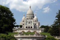 sacre coeur bazyliki Paryża zdjęcie royalty free