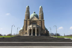 The Sacre Coeur Cathedral in Brussels Stock Photo