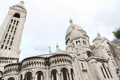 Sacre Coeur Cathedral in Paris Stock Photo
