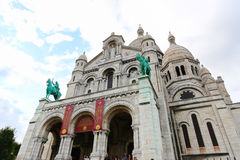 Sacre Coeur Cathedral - Paris Stock Photography