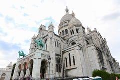 Sacre Coeur Cathedral - Paris Royalty Free Stock Photos