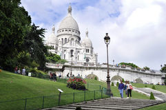 Sacre coeur Cathedral - Paris Stock Image