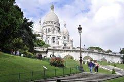 Sacre coeur Cathedral - Paris stock image