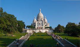 sacre coeur Cathedral Paris royalty free stock photography