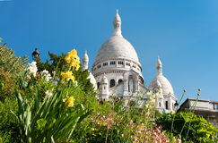 Sacre Coeur Cathedral Royalty Free Stock Images