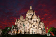 Sacre Coeur Catherdal Photographie stock
