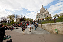 Sacre Coeur Church 2 Royalty Free Stock Photography