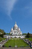 Sacre Coeur church Royalty Free Stock Photo