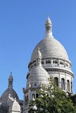 Sacre Coeur church detail Stock Photos