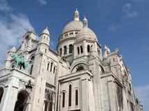 Sacre Coeur Church, Monmatre Paris France Royalty Free Stock Images