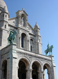 Sacre-Coeur church, Paris Stock Image