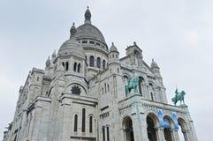 Sacre Coeur church at Paris Stock Image