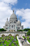 Sacre Coeur church in Paris, France Royalty Free Stock Image