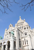 Sacre coeur church Paris France Royalty Free Stock Photos