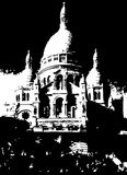 Sacre Coeur Church Paris France Royalty Free Stock Images