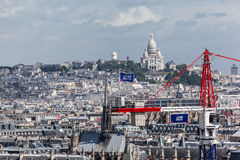 Sacre Coeur Church Paris Royalty Free Stock Photos