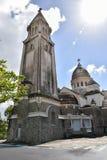 Sacre Coeur de Balata, Martinique, Fort-de-France. Stock Photos
