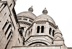 Sacre Coeur de Montmartre Stock Image