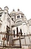 Sacre Coeur de Montmartre Stock Photography