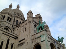 Paris Sacré-coeur Royalty Free Stock Image