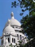 Sacre-coeur de París fotografía de archivo libre de regalías