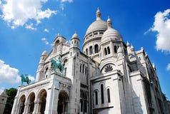 Sacre Coeur de Parigi Fotografia Stock
