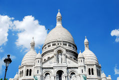 Sacre Coeur de Paris Stock Images
