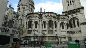 Sacre-coeur di Parigi stock footage