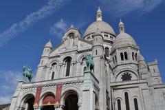 Sacre Coeur em Montmartre Imagem de Stock Royalty Free