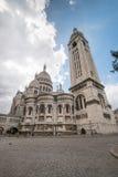 Sacre Coeur em Montmartre da parte traseira Imagem de Stock