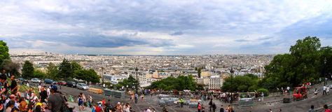 Sacre-Coeur em Montmartre Paris Fotografia de Stock