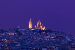 Sacre Coeur em Paris France Foto de Stock