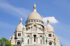 Sacre Coeur em Paris, France Foto de Stock Royalty Free