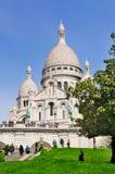 Sacre Coeur em Paris, France Foto de Stock